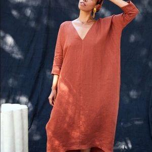 Rachel Craven linen dress